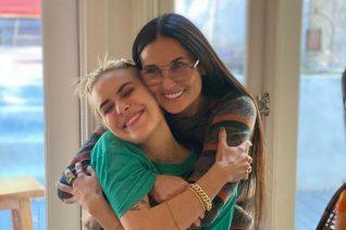 Η κόρη της Demi Moore ξύρισε το κεφάλι της και είναι σαν να ξαναβλέπεις το G.I. Jane