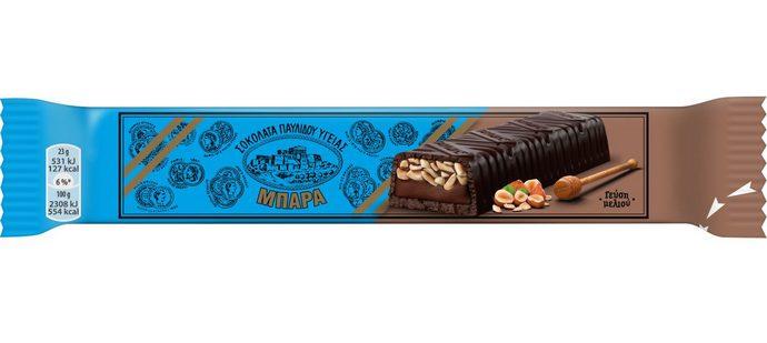 μπάρα σοκολάτα υγείας