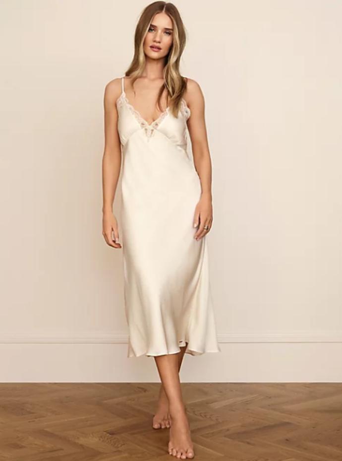 lingerie φόρεμα με δαντέλα