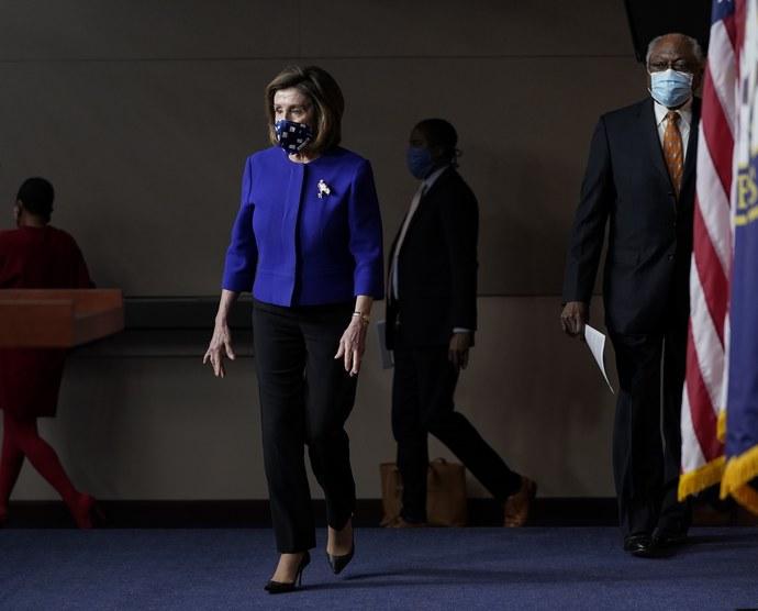 Nancy Pelosi, μάσκες