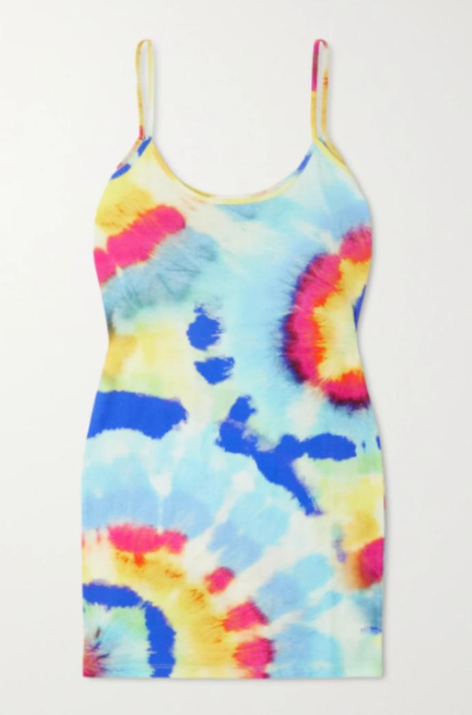 μίνι χρωματιστό φόρεμα