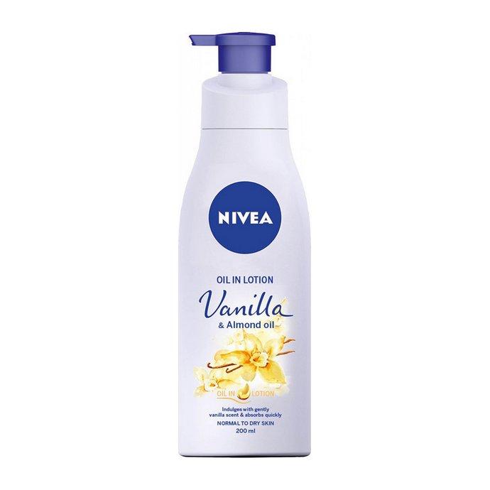 Nivea Body Oil in Lotion Vanilla & Almond Oil