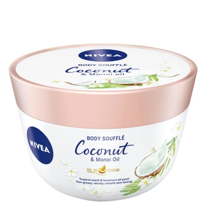 Body Souffle Coconut & Monoi Oil Nivea