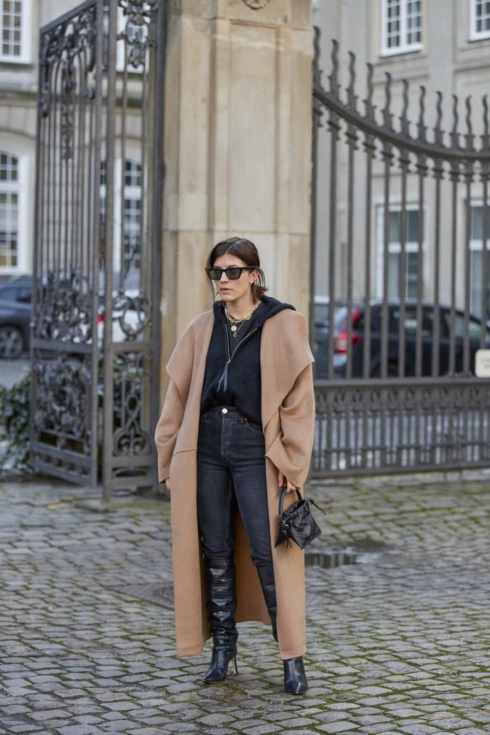 καμηλό παλτό