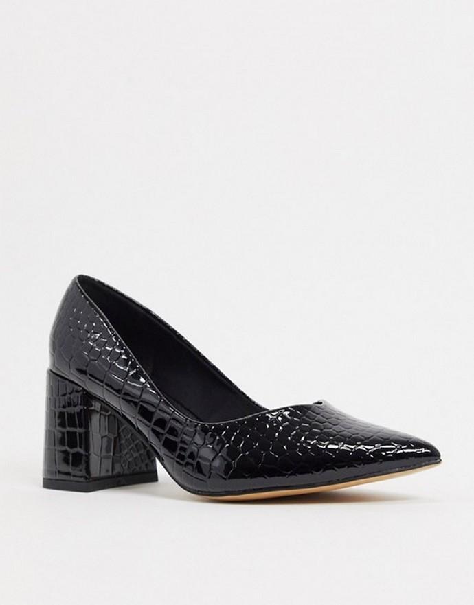 Γόβες με block heels