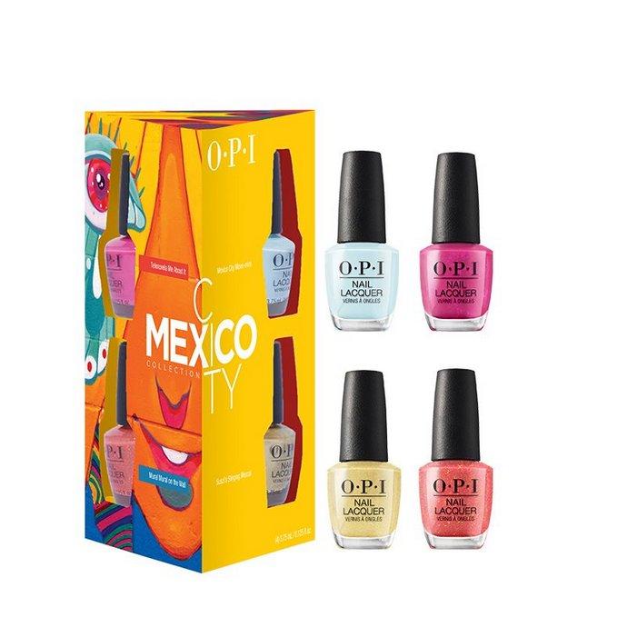 OPI - Mexico City Nail Lacquer Mini 4-Pack