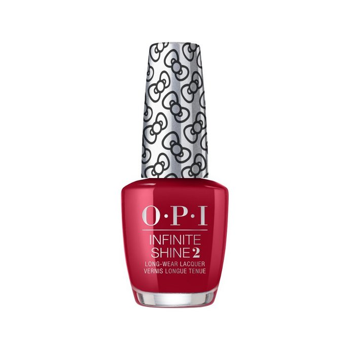 OPI x Hello Kitty Collection Infinite Shine Long Wear Lacquer στην απόχρωση A Kiss on the Chìc