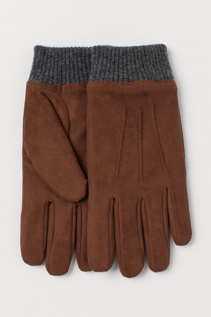 Faux δερμάτινα γάντια