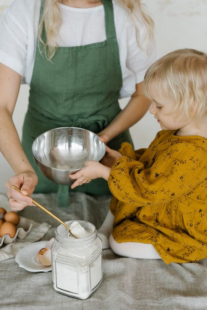 παιδιά κουζίνα
