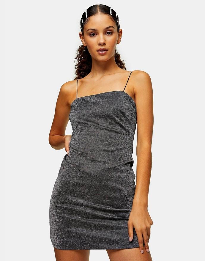 Bodycon φόρεμα με τιραντάκι