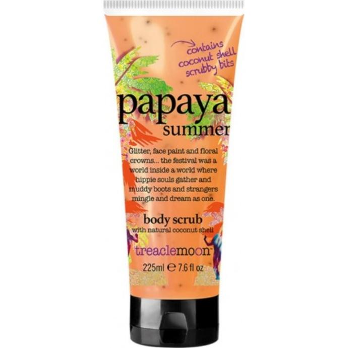 Treaclemoon Papaya Summer Body Scrub 225ml