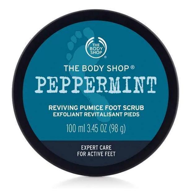 The Body Shop Peppermint Reviving Pumice Foot Scrub (Vegan)
