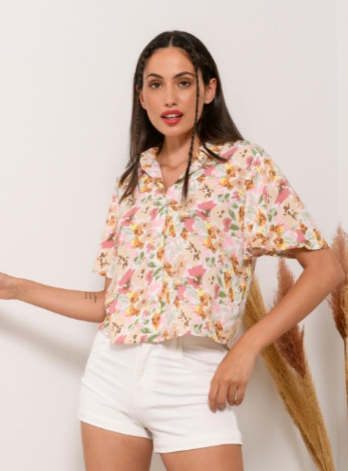 Φλοράλ πουκάμισο