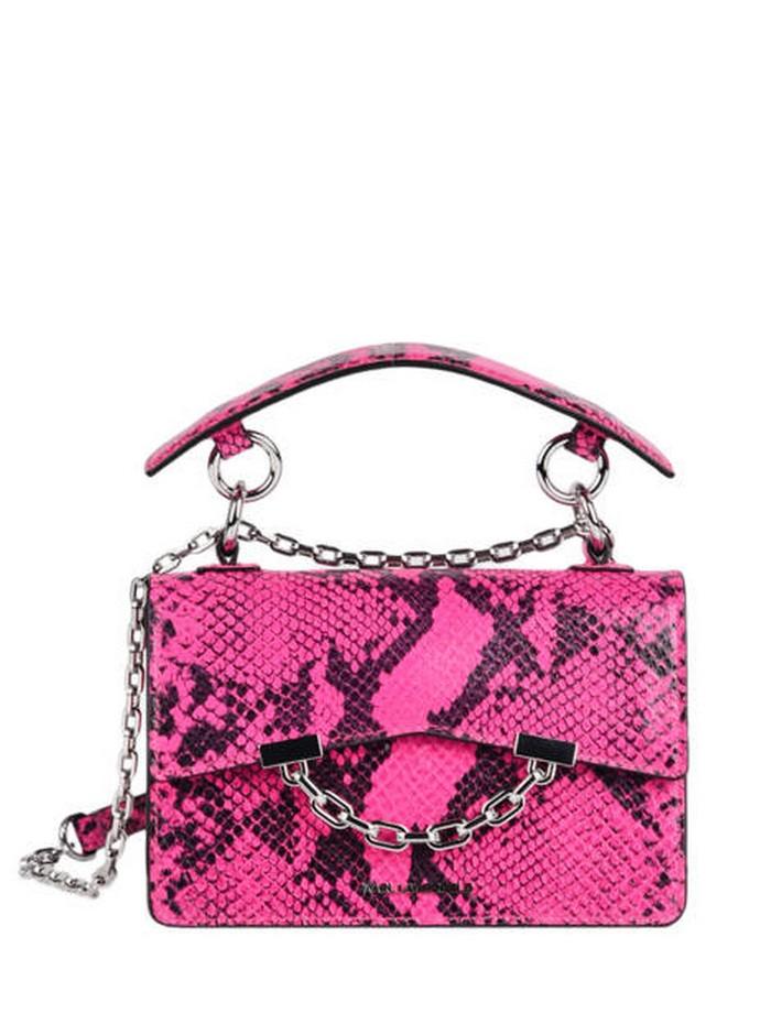 Τσάντα χειρός σε snakeskin