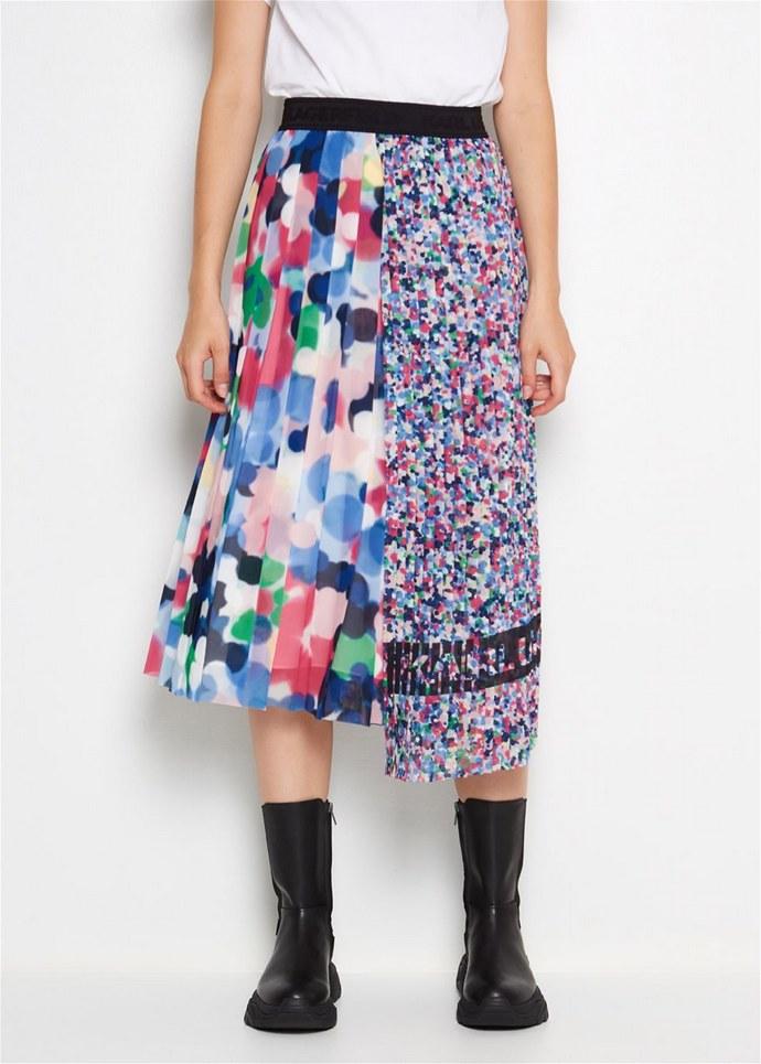 Πλισέ φούστα με διαφορετικά patterns