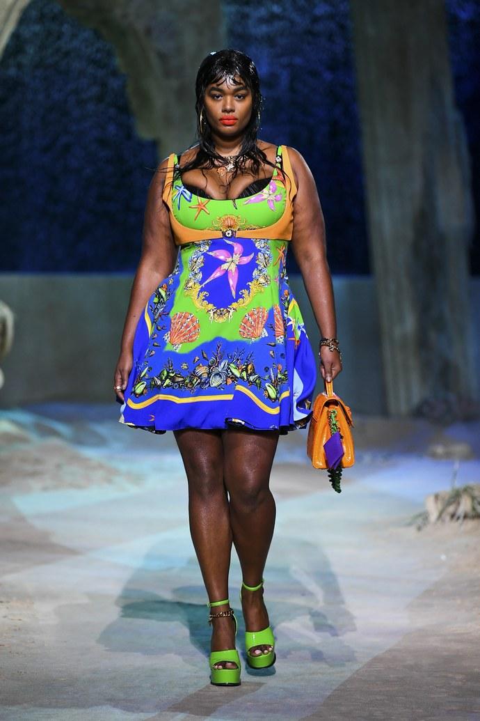 fashion show Versace