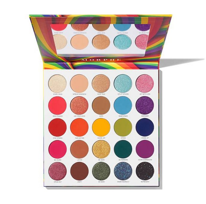 Morphe 25L Live With Love Artistry Palette