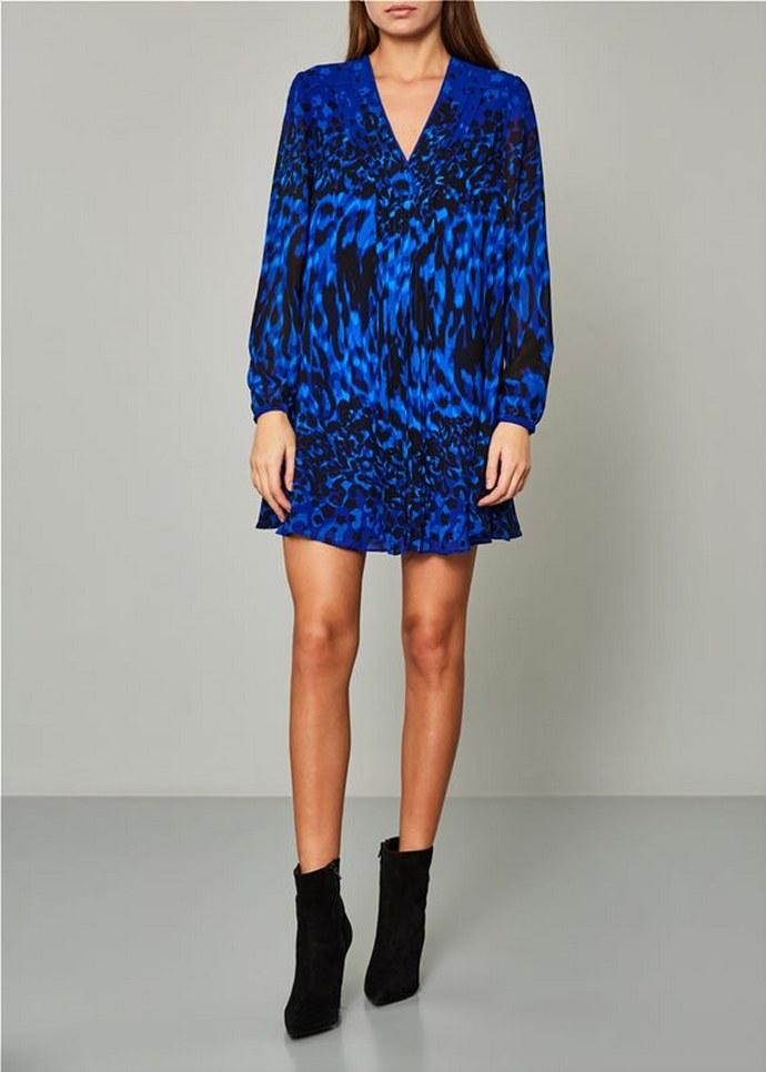 Μίνι φόρεμα με μοτίβο
