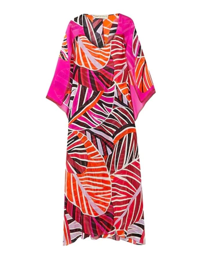 μάξι φόρεμα με μοτίβο