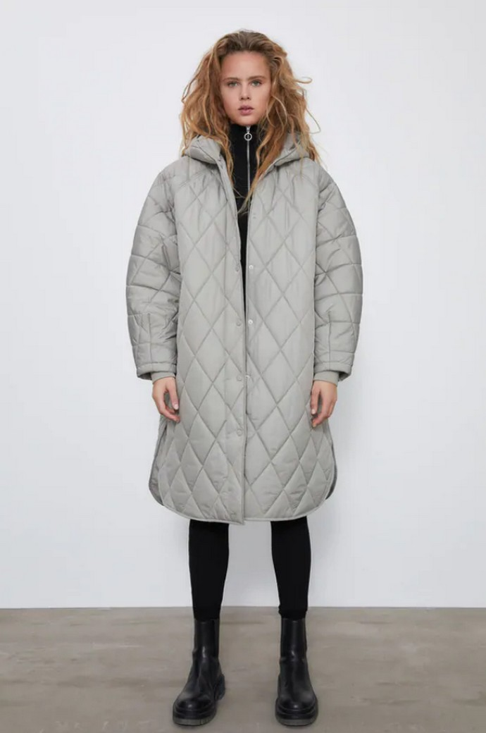 Oversized puffer παλτό
