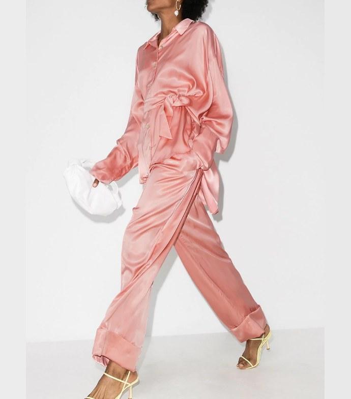Σετ πιτζάμες με ζώνη