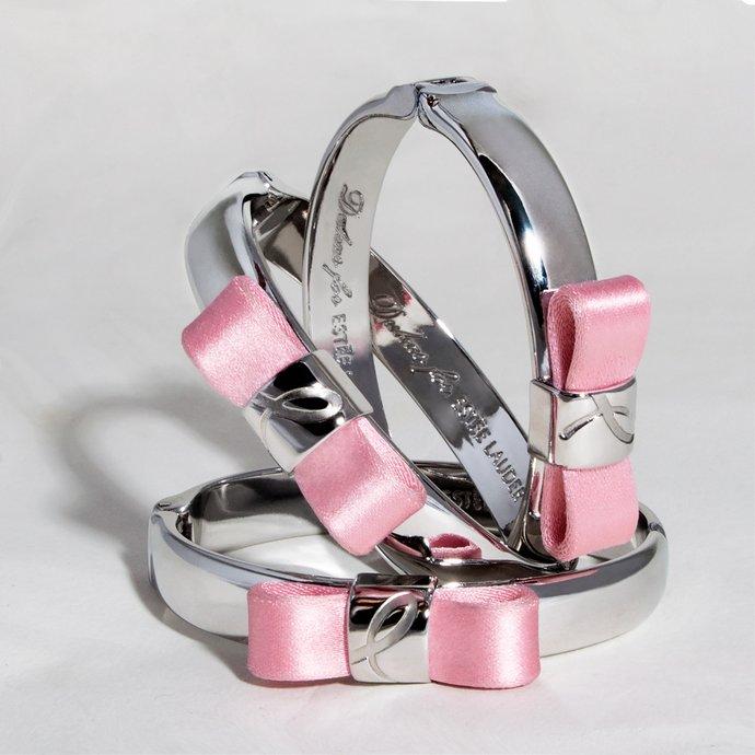 ροζ βραχιόλι της Estée Lauder