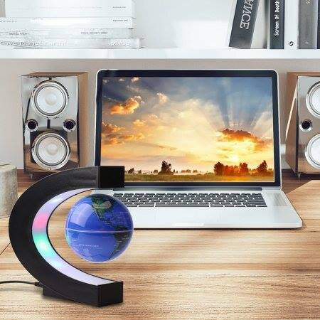 Αιωρούμενο Φωτιστικό-electronic Magnetic Levitation Floating Globe Decoration Decor Home