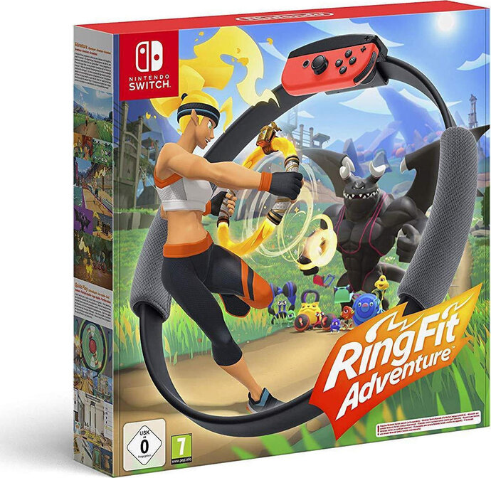 Ring Fit Adventure - Nintendo Switch Game
