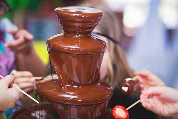 Σιντριβάνι Fondue Σοκολάτας