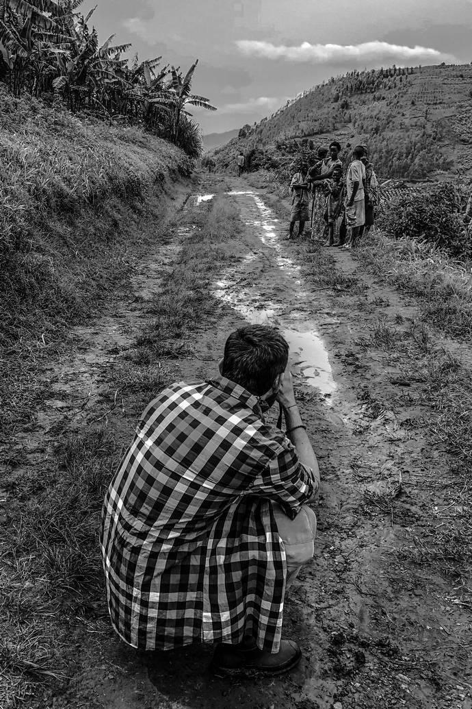 Νίκος Ζήκος Ρουάντα ταξίδι