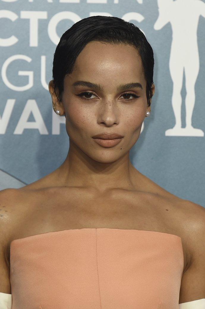 Zoe Kravitz arrives at the 26th annual Screen Actors Guild Awards