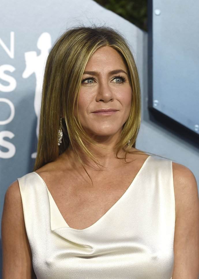 Jennifer Aniston arrives at the 26th annual Screen Actors Guild Awards
