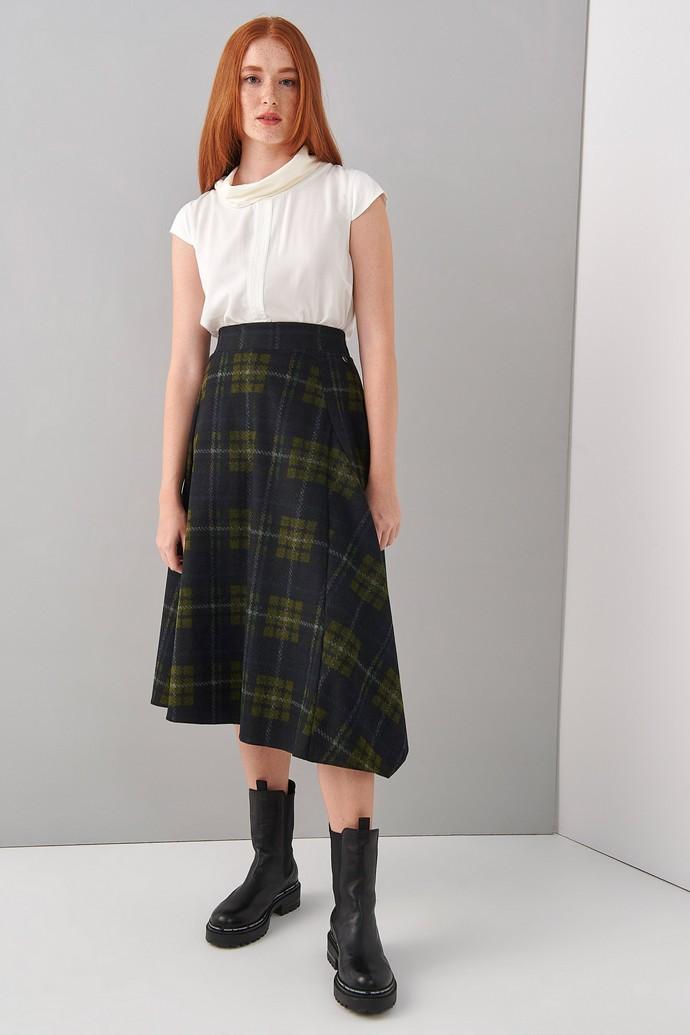 Μίντι καρό φούστα