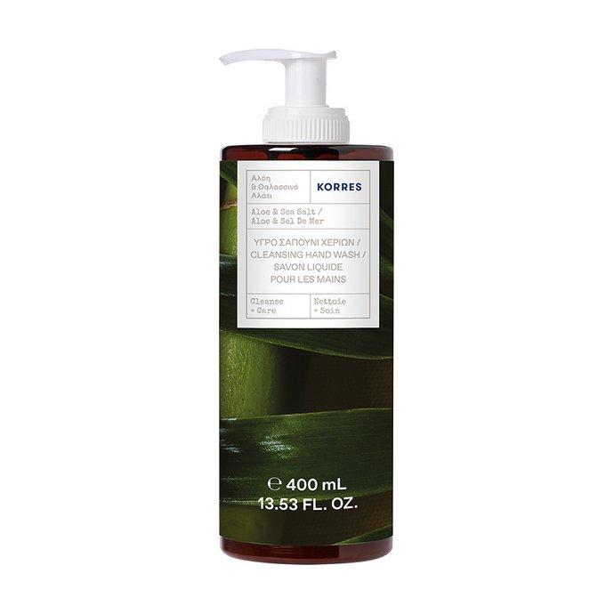 Korres Υγρό Σαπούνι Χεριών Aloe & Sea Salt
