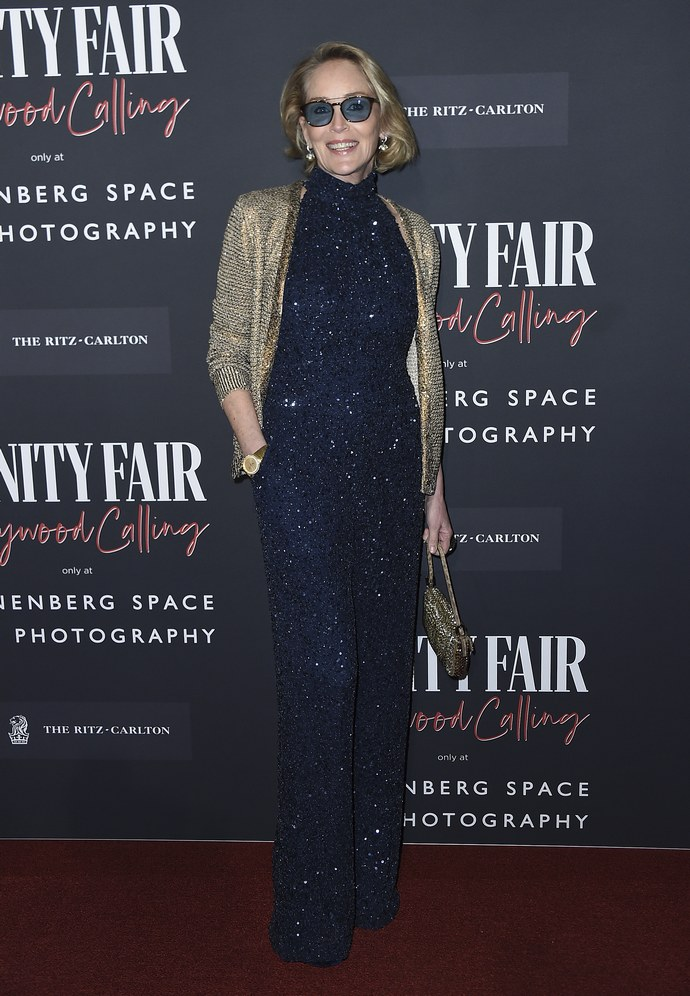 H Sharon Stone είναι 61 και είναι στα καλύτερά της