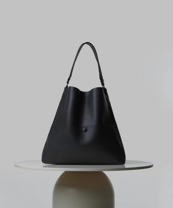 Δερμάτινη tote bag