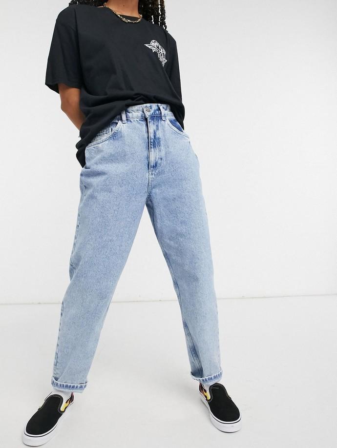 90s εμπνευσμένο τζιν παντελόνι