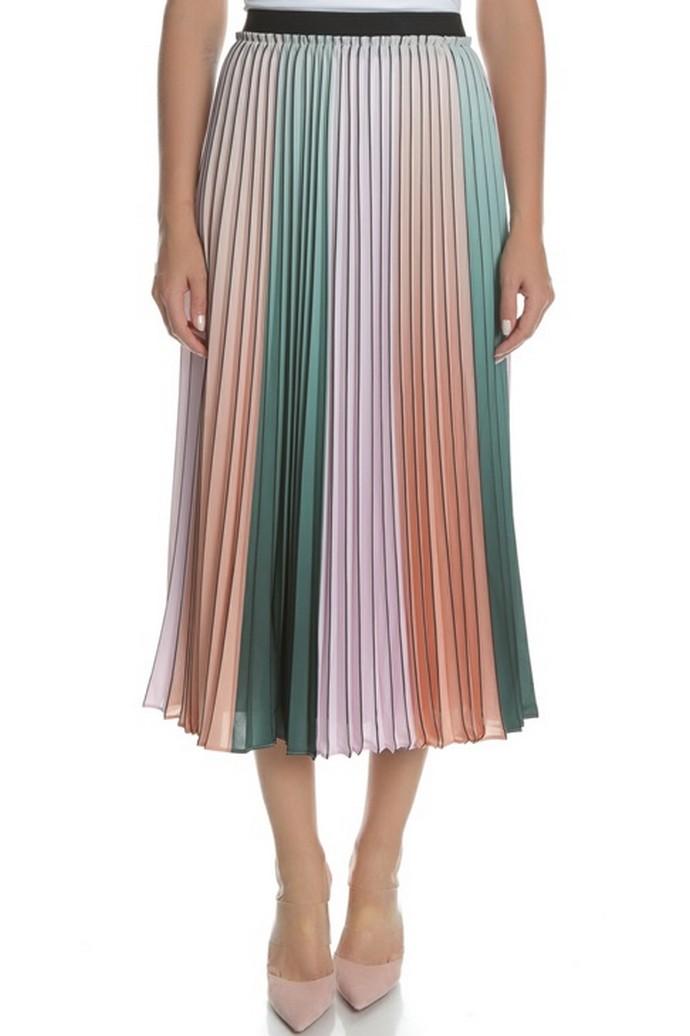 Πλισέ ψηλόμεση φούστα