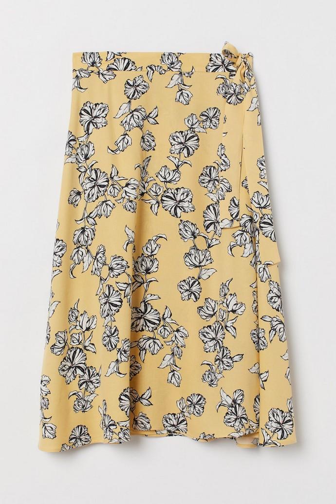 Φλοράλ κρουαζέ φούστα