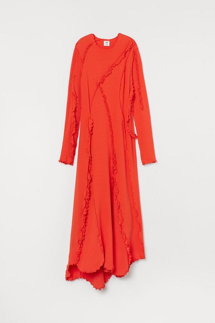 Φόρεμα από ζέρσεϊ και οικολογικό υλικό