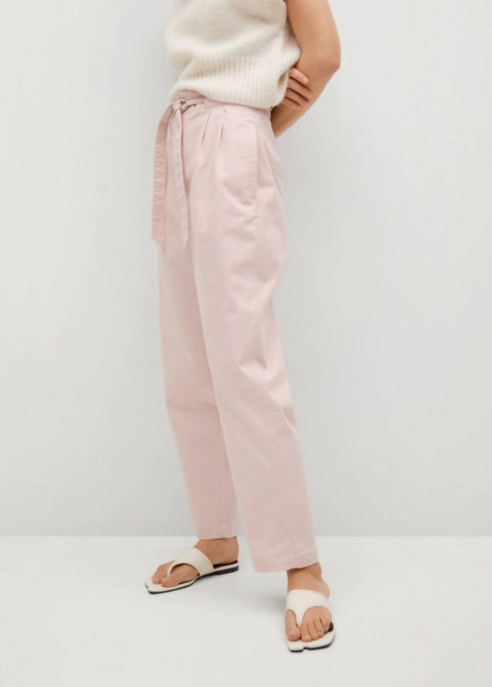 Slouchy παντελόνα με ζώνη