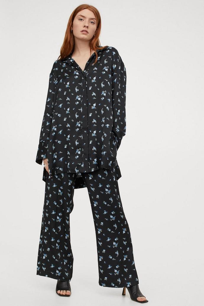 Φλοράλ παντελόνα