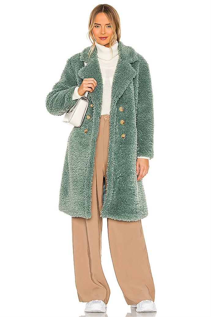 Τeddy coat με μεγάλα κουμπιά