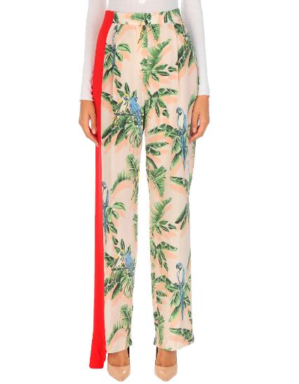 παντελόνι με εξωτικό μοτίβο