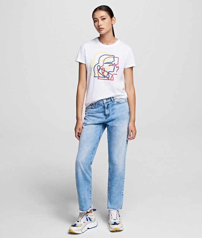 straight leg τζιν παντελόνια