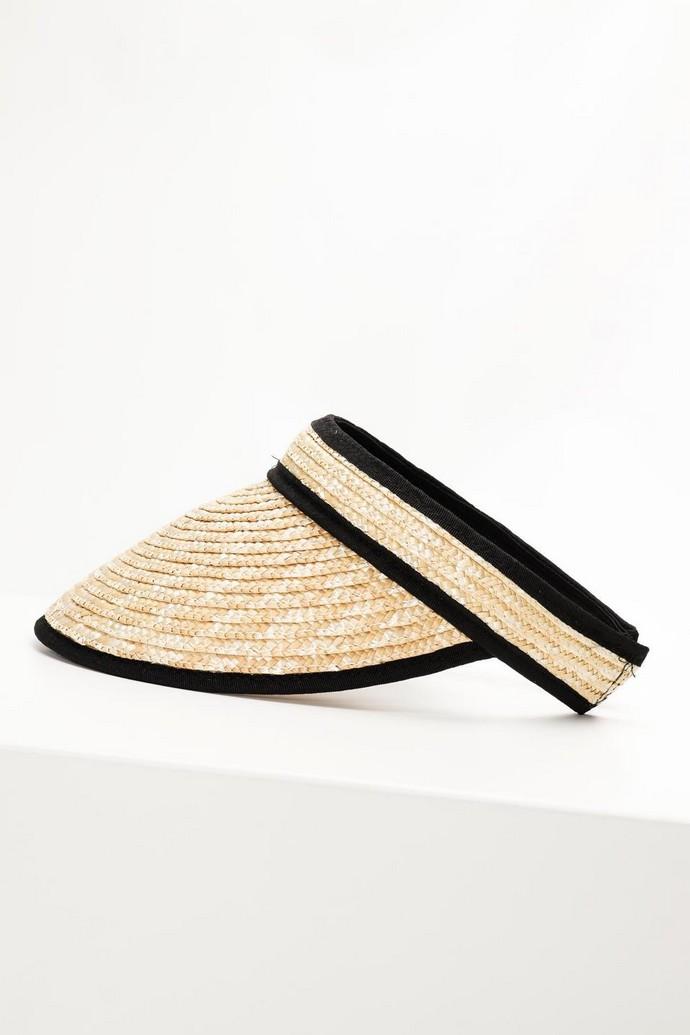 Καπέλο ψάθινο visor