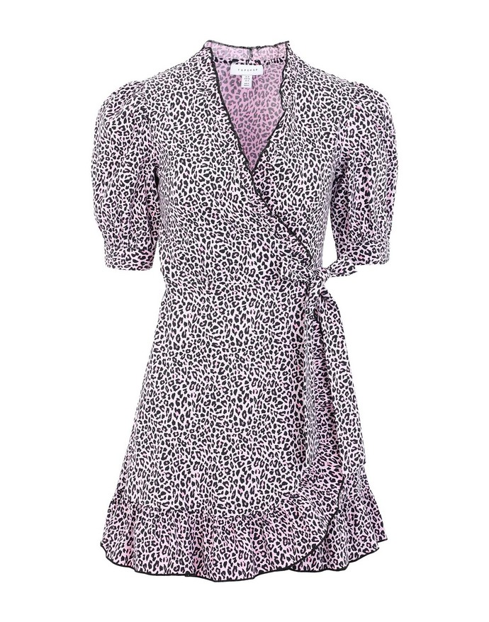 Μίνι wrap dress