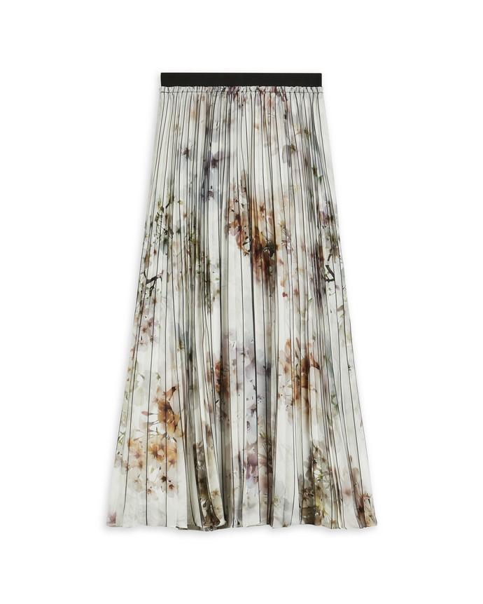 Πλισέ φλοράλ φούστα