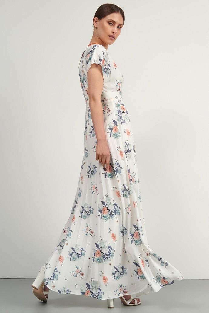 Μάξι φλοράλ φόρεμα