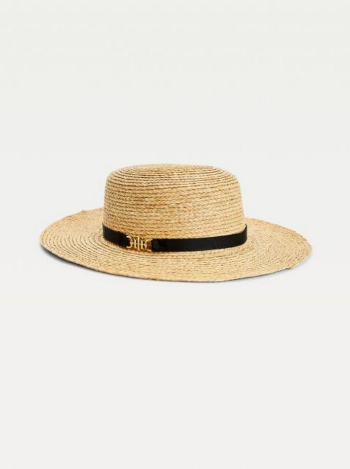 Ψάθινο καπέλο fedora